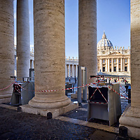 Nuovi metal detector in piazza San Pietro