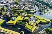 Nederland, Noord-Brabant, Den Bosch, 23-08-2016; bastion en voormalig fort De Citadel met Brabants Historisch Informatie Centrum<br /> Bastion and former fortress Citadel.<br /> luchtfoto (toeslag op standard tarieven);<br /> aerial photo (additional fee required);<br /> copyright foto/photo Siebe Swart