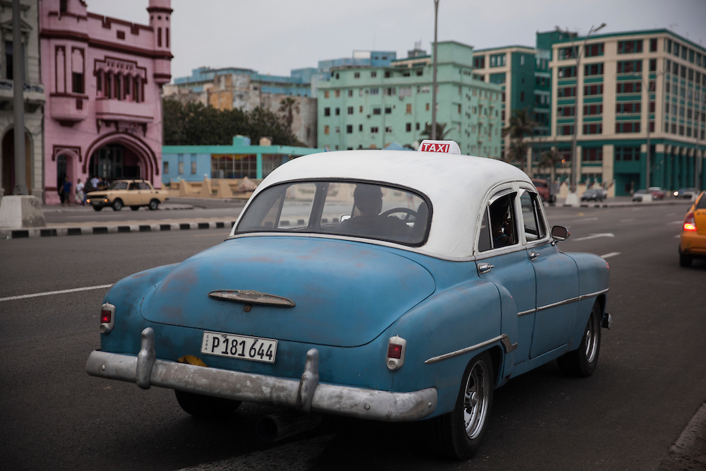 Taxi in Havana, Cuba