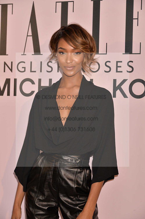 Jourdan Dunn at the Tatler's English Roses 2017 party in association with Michael Kors held at the Saatchi Gallery, London England. 29 June 2017.<br /> Photo by Dominic O'Neill/SilverHub 0203 174 1069 sales@silverhubmedia.com