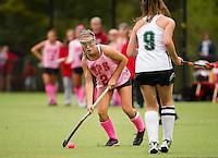 St Paul's School Field Hockey versus New Hampton School.  ©2016 Karen Bobotas Photographer