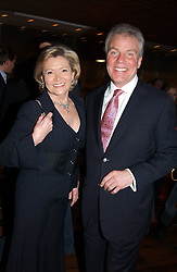 CHRIS & GRETA HUTCHESON Gordon Ramsay's parents in law, at the opening party of Pengelley's, 164 Sloane Street, London SW1 on 22nd February 2005.<br /><br />NON EXCLUSIVE - WORLD RIGHTS