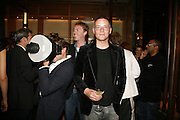 Giles Deacon, Alex Shulman of Vogue and Mulberry host a party for Giles Deacon. ( Mulberry for Giles) Mulberry. New Bond St. 20 September 2006. ONE TIME USE ONLY - DO NOT ARCHIVE  © Copyright Photograph by Dafydd Jones 66 Stockwell Park Rd. London SW9 0DA Tel 020 7733 0108 www.dafjones.com