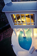 Modern residence, Bradenton, FL, Dale Parks, Architect