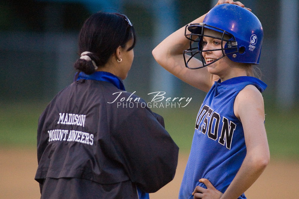 MCHS JV Softball .District Championship vs Clarke.Madison 7, Clarke 5.May 22, 2006