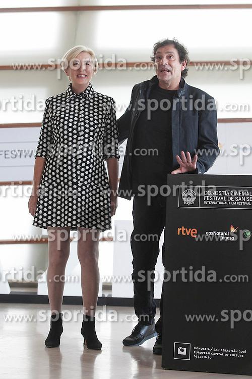 23.09.2015, Madrid, San Sebastian, ESP, San Sebastian International Film Festival, im Bild Movie director Agusti Villaronga poses during `El rey de la Habana&acute; film presentation // during the San Sebastian International Film Festival in Madrid in San Sebastian, Spain on 2015/09/23. EXPA Pictures &copy; 2015, PhotoCredit: EXPA/ Alterphotos/ Victor Blanco<br /> <br /> *****ATTENTION - OUT of ESP, SUI*****