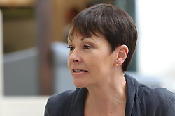 May 10, 2017 - London, London, United Kingdom - Image ©Licensed to i-Images Picture Agency. 10/05/2017. London, United Kingdom. Caroline Lucas in Westminster. London. UK 10 May 2017. Caroline Lucas MP and Co-Leader of the Green Party in Westminster. Picture by Dinendra Haria / i-Images (Credit Image: © Dinendra Haria/i-Images via ZUMA Press)