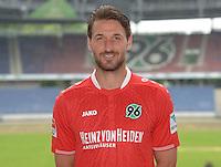 German Soccer Bundesliga 2015/16 - Photocall of Hannover 96 on 13 July 2015 in Hanover, Germany: Christian Schulz