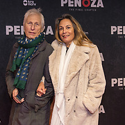 NLD/Amsterdam/20191118 - Filmpremiere Penoza: The Final Chapter, Ivan Wolffers en partner Marion Bloem