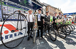 Oldtimers during 2nd Stage of 26th Tour of Slovenia 2019 cycling race between Maribor and Celje (146,3 km), on June 20, 2019 in  Slovenia. Photo by Vid Ponikvar / Sportida
