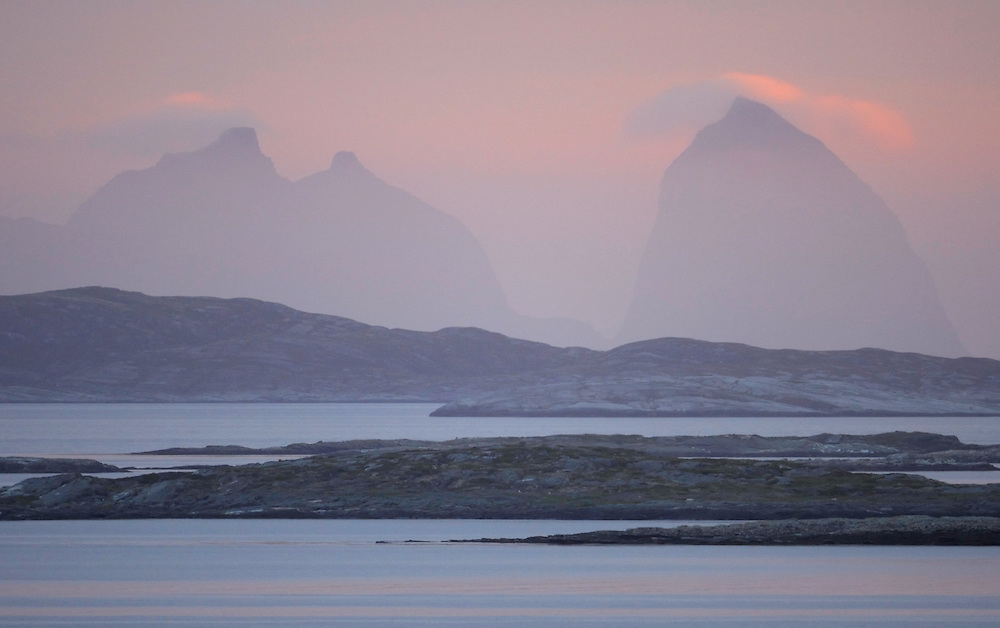 Lovund islands, Sleneset, Helgeland, Norway
