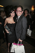 Amy Winehouse and Alan Carr, The South Bank Show Awards, Savoy Hotel. London. 23 January 2007.  -DO NOT ARCHIVE-© Copyright Photograph by Dafydd Jones. 248 Clapham Rd. London SW9 0PZ. Tel 0207 820 0771. www.dafjones.com.