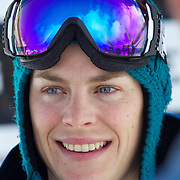 Holly Crawford, Australia, Ladies second place winner, during the Half Pipe Finals in the LG Snowboard FIS World Cup, during the Winter Games at Cardrona, Wanaka, New Zealand, 28th August 2011. Photo Tim Clayton...