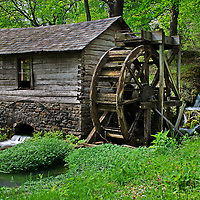 Reed Spring Mill, Reynolds County, Missouri
