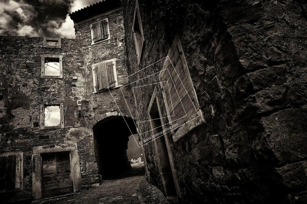 Old castles, remains, Croatia old, abandoned, villages, cottages, castles, travel, explore