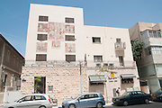 A renovated building in Montefiore street, Tel Aviv, Israel