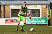 Forest Green Rovers Haydn Hollis(32) on the ball during the EFL Sky Bet League 2 match between Forest Green Rovers and Notts County at the New Lawn, Forest Green, United Kingdom on 10 March 2018. Picture by Shane Healey.