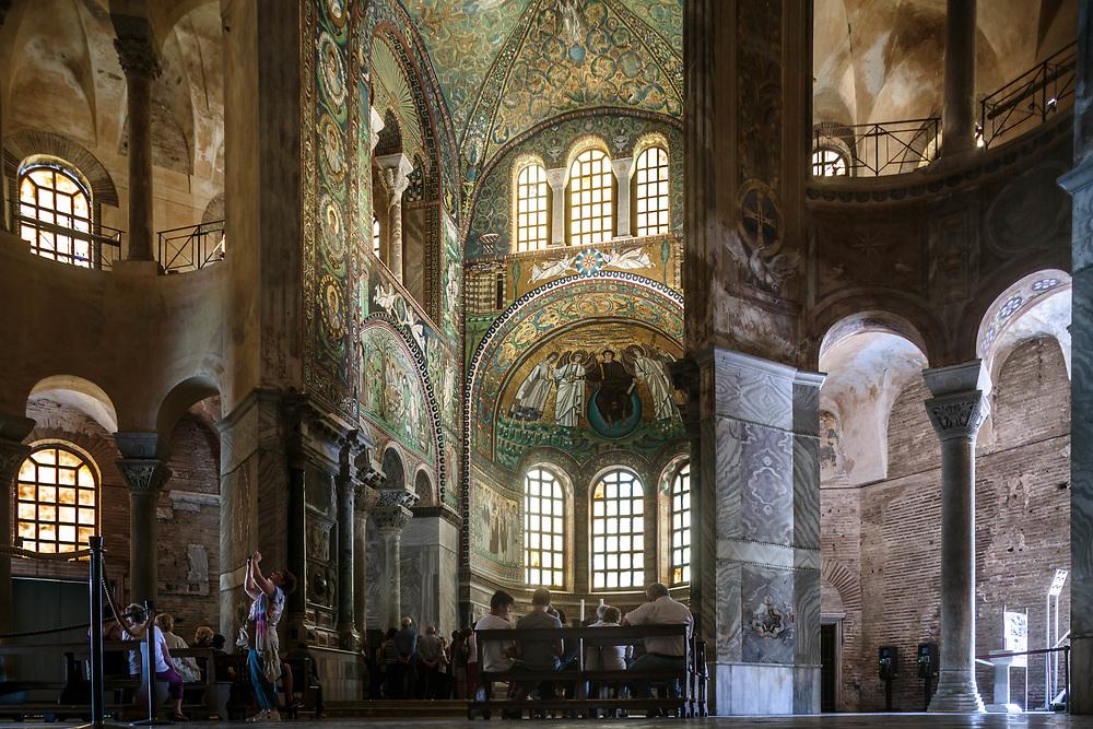 11 JUN 2016 - Ravenna - Basilica di San Vitale.