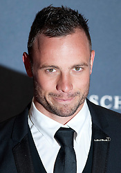 © Licensed to London News Pictures. 06/02/2012. London, UK.  Athlete Oscar Pistorius arriving on the red carpet for the Laureus World Sports Awards 2012. Dozens of sports and Hollywood celebrities arrived in the English capital to attend the event held at the Queen Elizabeth II Conference Centre in the same year that London will host the Olympic Games. Photo credit : Ben Cawthra/LNP