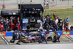 April 29, 2018 - Talladega, Alabama, United States of America - Kevin Harvick (4) brings his car down pit road for service during the GEICO 500 at Talladega Superspeedway in Talladega, Alabama. (Credit Image: © Chris Owens Asp Inc/ASP via ZUMA Wire)