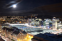 Oslo by night.<br /> Foto: Svein Ove Ekornesv&aring;g