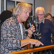 NLD/Amsterdam/20190912 - Expositie opening hoezencollectie Govert de Roos, Govert de Roos