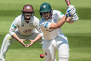 6 May 2018 - Surrey v Worcestershire- Specsavers County Championship, day three.