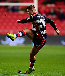 Callum Sheedy of Bristol Rugby kicks  - Mandatory by-line: Alex Davidson/JMP - 08/12/2017 - RUGBY - Ashton Gate Stadium - Bristol, England - Bristol Rugby v Leinster 'A' - B&I Cup