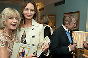 LIZ BREWER; IZABELLA KAY; DAVID MARTIN ABRAHAMS, Party Planning and Etiquette. Liz Brewer book launch,. Dukes hotel. St. James's. London. 10 June 2011. <br /> <br />  , -DO NOT ARCHIVE-© Copyright Photograph by Dafydd Jones. 248 Clapham Rd. London SW9 0PZ. Tel 0207 820 0771. www.dafjones.com.