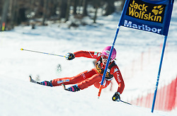 FANCHINI Nadia (ITA) competes during 5th Ladies' Giant slalom at 51st Golden Fox of Audi FIS Ski World Cup 2014/15, on February 21, 2015 in Pohorje, Maribor, Slovenia. Photo by Vid Ponikvar / Sportida