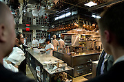 June crew dines at Bouley, New York