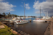Ma'alaea Harbor, Maui, Hawaii