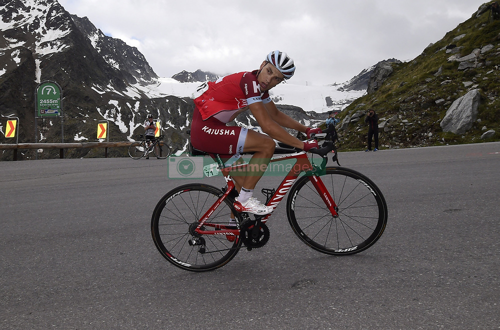 June 16, 2017 - Zernez / Solden, Suisse / Autriche - Solden, Austria - June 16 : SPILAK Simon (SLO) Rider of Team Katusha - Alpecin during stage 7 of the Tour de Suisse cycling race, a stage of 160 kms between Zernez and Solden on June 16, 2017 in Solden, Austria, 16/06/2017 (Credit Image: © Panoramic via ZUMA Press)