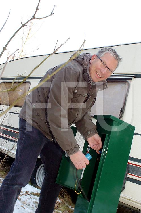 060313, beerze, ned,<br /> Jan Hagedoorn markante ondernemer van het camping paradijs de Beerze Bulten, in de entourage van de camping,<br /> fotografie frank uijlenbroek&copy;2006 michiel van de velde