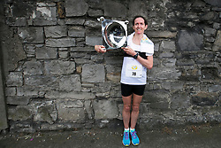 Repro Free: 02/06/2014<br /> Barbara Cleary from Clare winner of the 2014 Flora Womens' Mini Marathon. Picture Andres Poveda