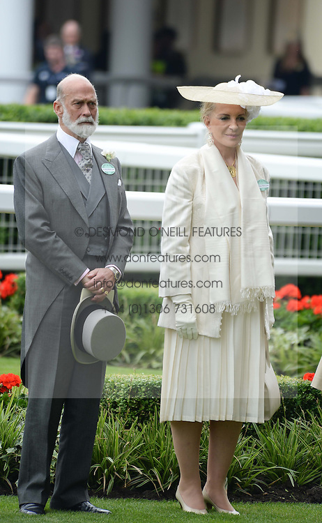 PRINCE & PRINCESS MICHAEL OF KENT  at Day 1 of the 2013 Royal Ascot Racing Festival at Ascot Racecourse, Ascot, Berkshire on 18th June 2013.