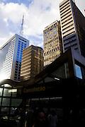 Sao Paulo_SP, Brasil...Entrada da estacao de metro da Consolacao...The entrace of the Consolacao subway station. ..Foto: MARCUS DESIMONI / NITRO