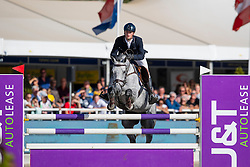 Huyvaert Thibault, BEL, Orphy van de kruishoeve<br /> FEI WBFSH Jumping World Breeding Championship for young horses Zangersheide Lanaken 2019<br /> © Hippo Foto - Dirk Caremans