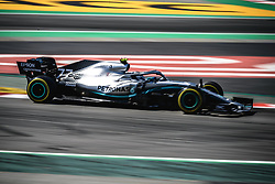 May 12, 2019 - Barcelona, Catalonia, Spain - VALTTERI BOTTAS (FIN) from team Mercedes drives in his W10 during the Spanish GP at Circuit de Catalunya (Credit Image: © Matthias OesterleZUMA Wire)