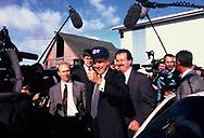 Senator Bob Dole presidential campaign in Iowa in 1996<br /> <br /> Photo by Dennis Brack