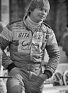 Rising French F1 star Didier Pironi drove for the all-French Ligier squad in 1980, winning his first Grand Prix in only his fourth race with the team. <br /> <br /> Only 28, Pironi had already won two French Formula 3 titles, the Monaco F3 race and the Le Mans 24 Hours for Renault. Breaking in to Formula 1 with Tyrrell, he turned heads immediately. <br /> <br /> Here, at the 1980 United States Grand Prix, he calmly explains how he saved his car when the car's sliding ground-effects &ldquo;skirt&rdquo; stuck in the raised position, causing a complete loss of downforce and 360-degree pirouette in the Watkins Glen Esses. <br /> <br /> The car spun in its length, landed on its wheels and shot on to the straight. &ldquo;I never lifted, but I probably lost three-tenths,&rdquo; he shrugged. <br /> <br /> Ferrari noticed his pace, and signed Pironi to the Scuderia in 1981 as teammate to Gilles Villeneuve. <br /> <br /> His relationship with Villeneuve turned sour in 1982 when Pironi appeared to disregard team orders and passed Villeneuve for victory at the Spanish Grand Prix. <br /> <br /> Feeling betrayed, Villeneuve would lose his life trying to out qualify Pironi at the Belgian Grand Prix. <br /> <br /> Weeks later, Pironi would crash heavily in the rain at the German Grand Prix and leave Formula One. While waiting to recover, he lost his life in an offshore boating accident.