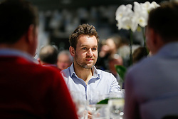 Adrian Jarvis of Bristol Rugby looks on during the Player Sponsors' Dinner in the Heineken Lounge at Ashton Gate - Mandatory byline: Rogan Thomson/JMP - 08/02/2016 - RUGBY UNION - Ashton Gate Stadium - Bristol, England - Bristol Rugby Player Sponsors' Dinner.