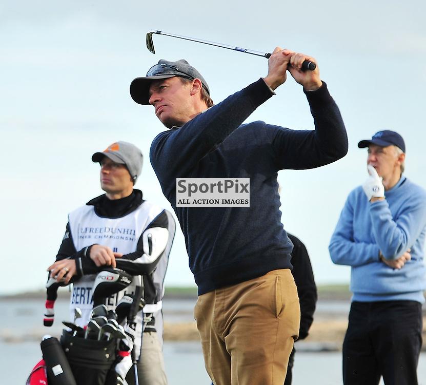 Ernesto Bertarelli. .Alfred Dunhill Links Championship, Kingsbarns, 6th October 2012..(c)  Alex Todd | StockPix.eu