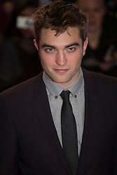 © licensed to London News Pictures. London, UK 14/11/2012. Robert Pattinson posing on the red carpet at the UK premiere of the The Twilight Saga: Breaking Dawn Part Two in Leicester Square, London. Photo credit: Tolga Akmen/LNP