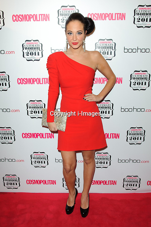 Tulisa Contostavlos at Cosmopolitan's Ultimate Women Awards 2011 in London, Thursday, November 3rd 2011. Photo by: i-Images<br />