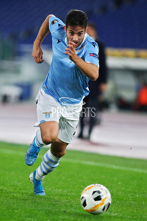 Jony of Lazio in action during the UEFA Europa League, Group E football match between SS Lazio and CFR Cluj on November 28, 2019 at Stadio Olimpico in Rome, Italy - Photo Federico Proietti / ProSportsImages / DPPI