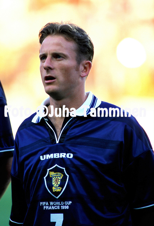 FIFA World Cup - France 1998.Kevin Gallacher - Scotland.©Juha Tamminen