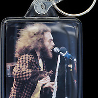 Ian Anderson - Key Fob with image approx. 35mm x 50mm from 1970 Isle of Wight Music Festival exhibition on the front. The reverse has an exclusive CameronLife  1970 IW festival design