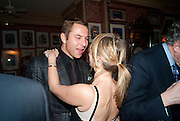 DAVID WALLIAMS; SAM TAYLOR WOOD, Graydon Carter hosts a diner for Tom Ford to celebrate the London premiere of ' A Single Man' Harry's Bar. South Audley St. London. 1 February 2010