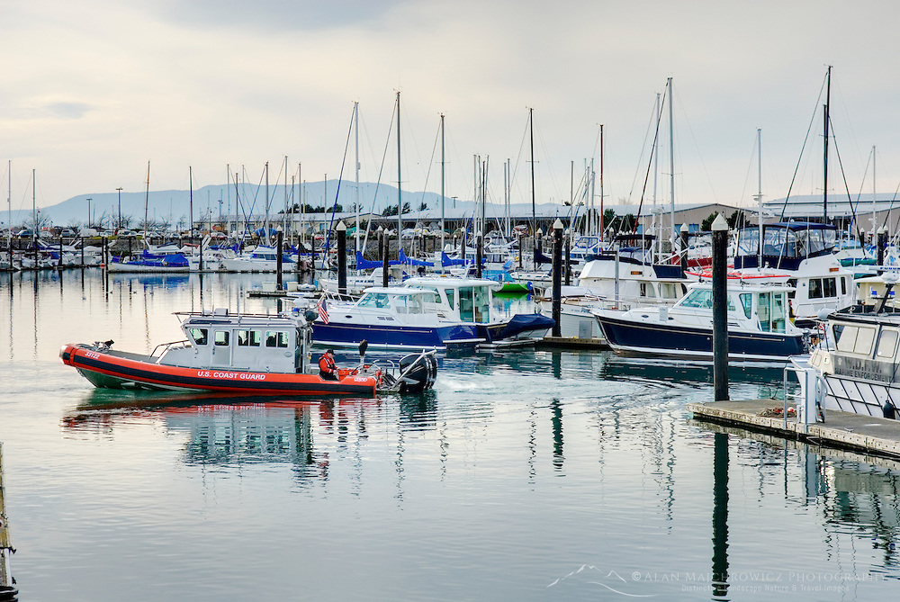 Marina on Bellingham Bay, Bellingham Washington USA